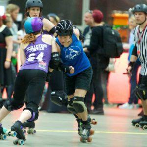 2015 NK Roller Derby - NLR vs Rotterdam Death Row Honeys – By JeroenDekkerFotografie